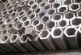 SS Hexagonal Pipes