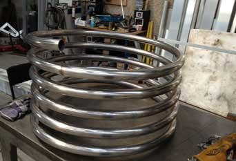 Stainless Steel Coiled Tubes